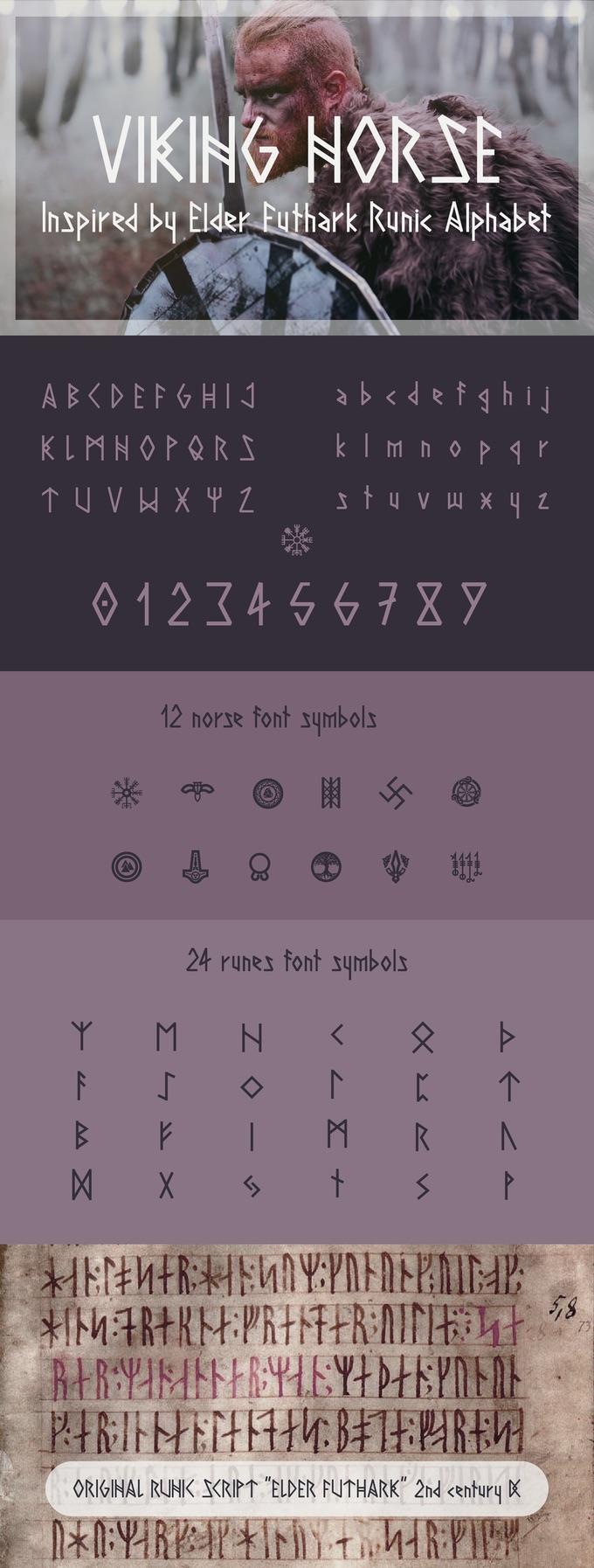 Viking Norse font